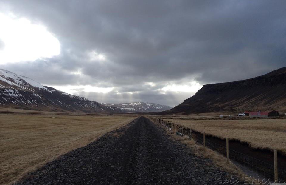 Driving In Reykjavik