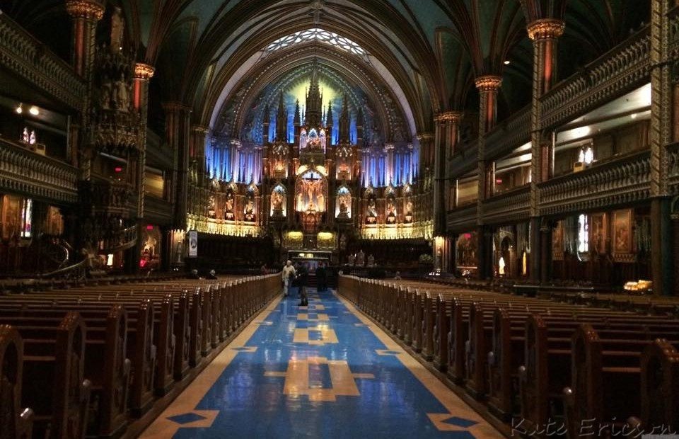 Notre Dame, Montreal, Canada
