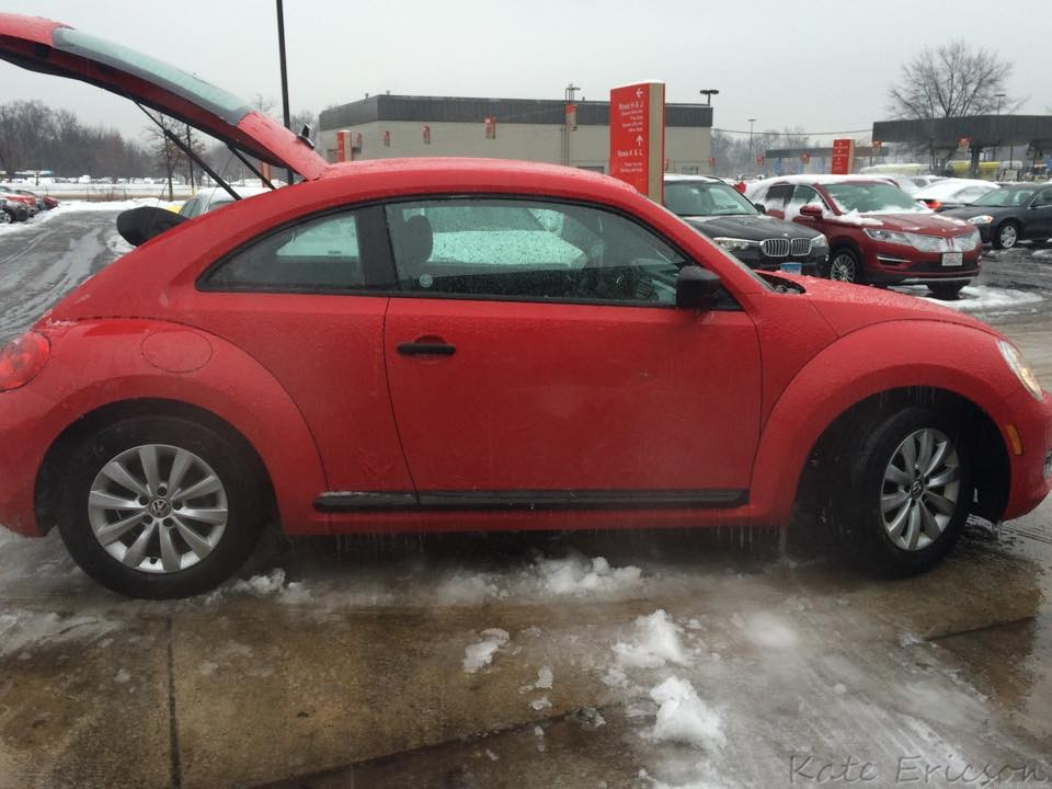 Punch Buggy Ice Storm