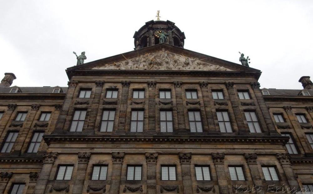Koninklijk Paleis, Amsterdam. Netherlands