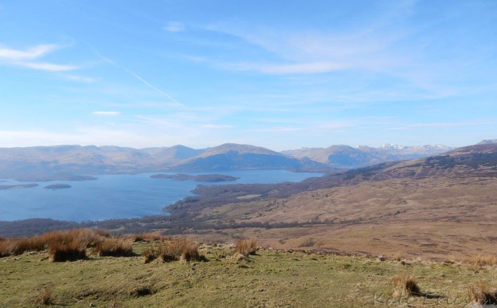 Conic Hill, Loch Lomond National Park, Scotland